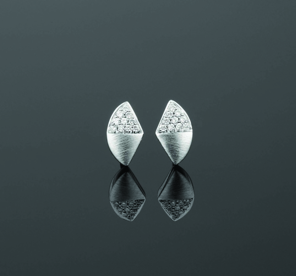 BUNDA Apus Wedge Stud Earrings $1,850