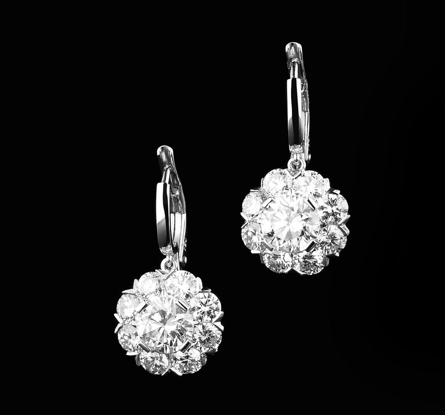BUNDA Charlock Diamond Earrings from $12,850 (*Special Order)