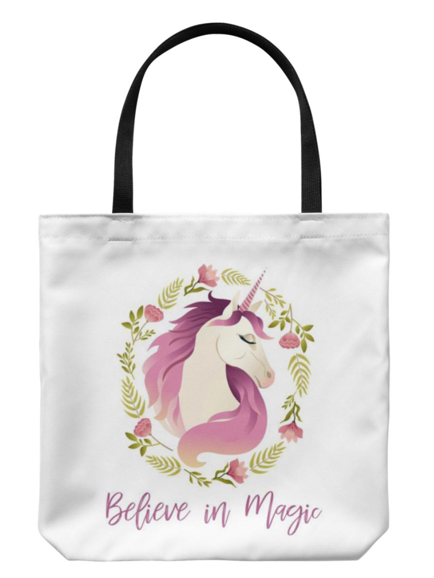 Unicorn Tote Bag $18