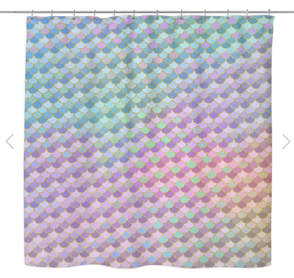 Mermaid Shower Curtain- $40