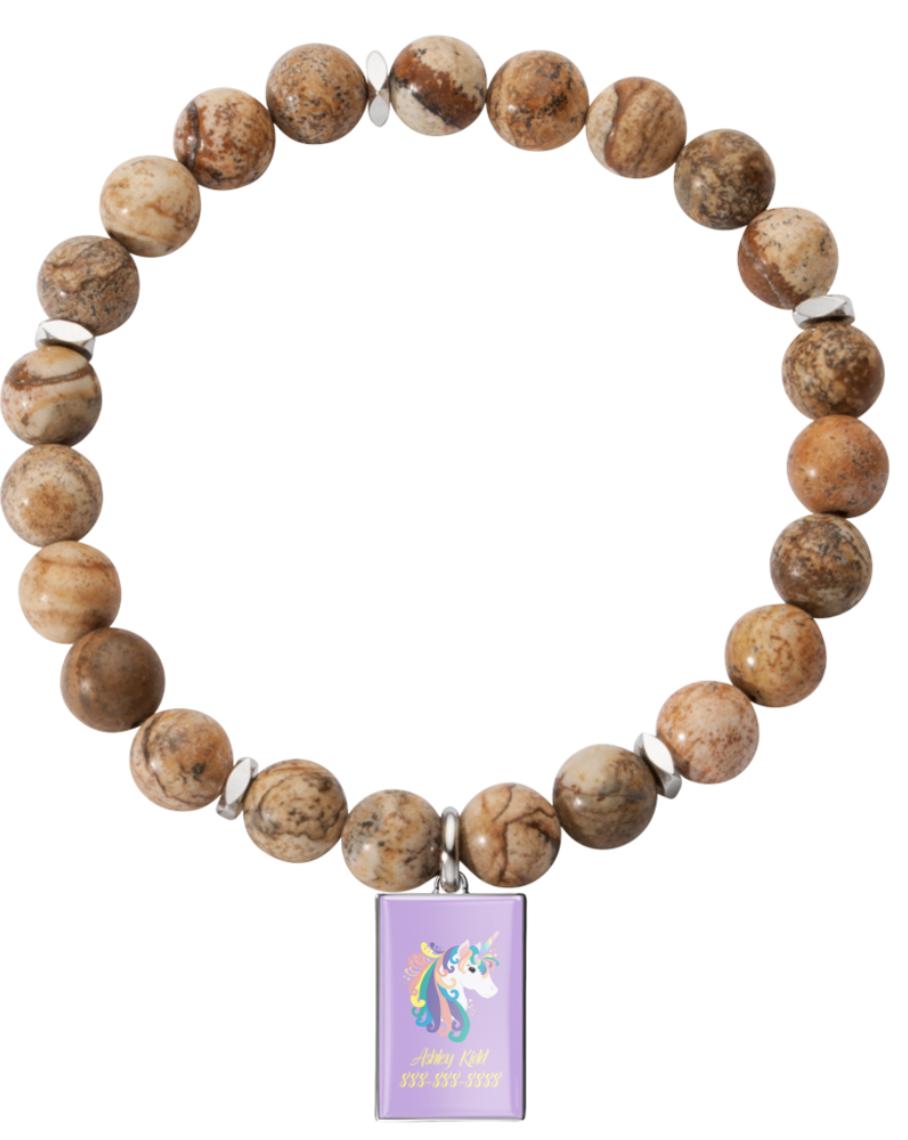 Bracelet- Rectangle Charm $18