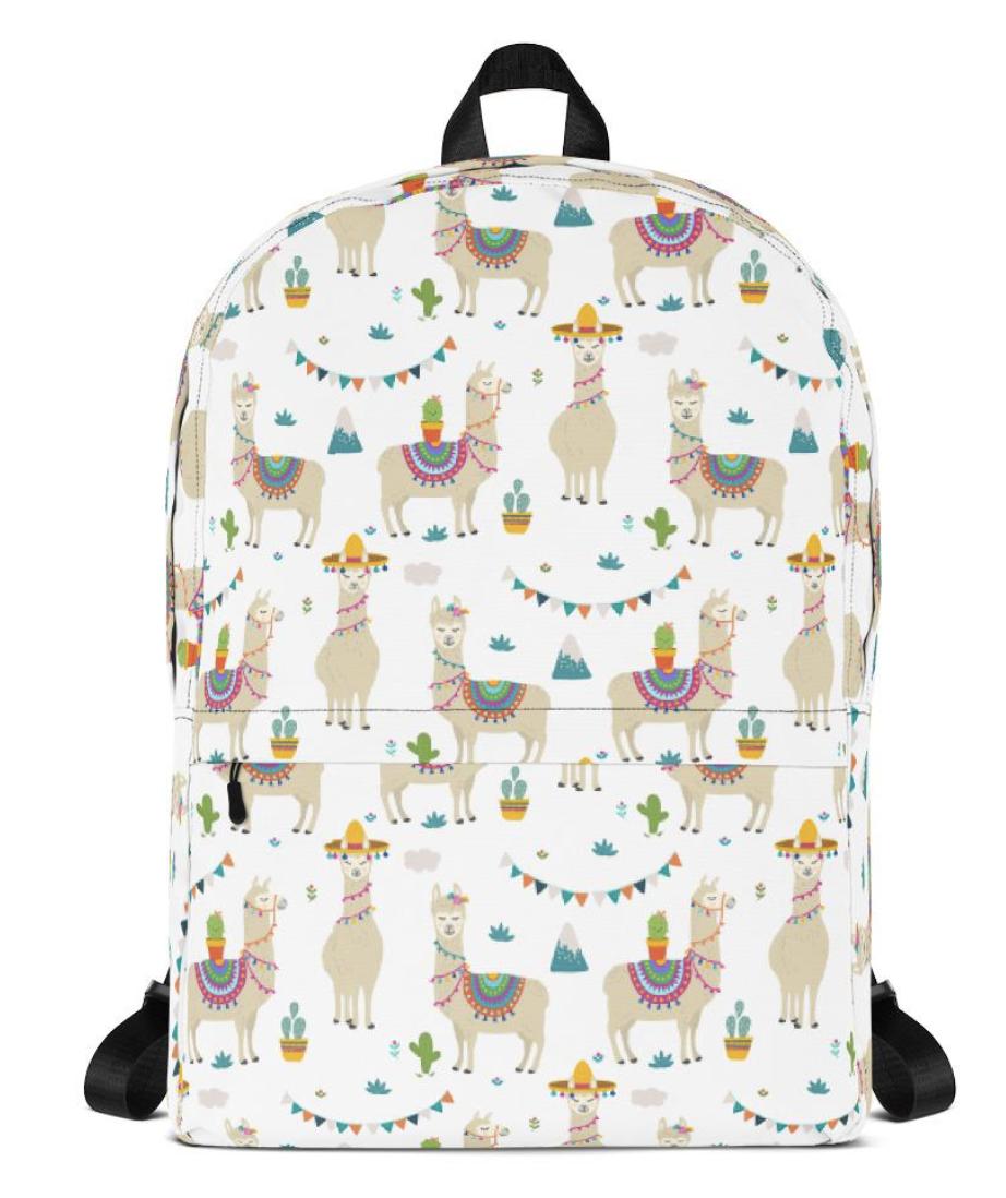 Llama Backpack $49.95