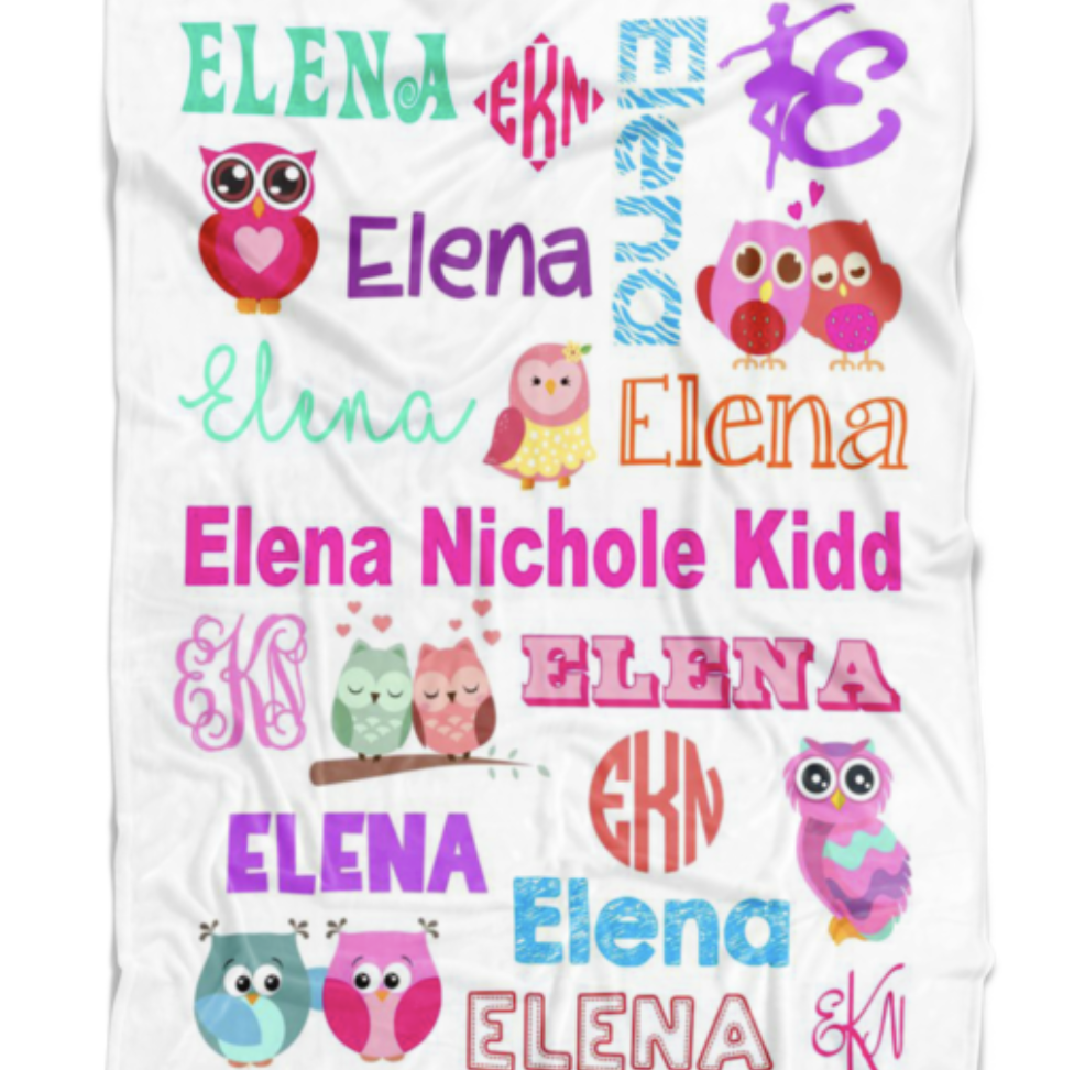 Elena Blanket $35+