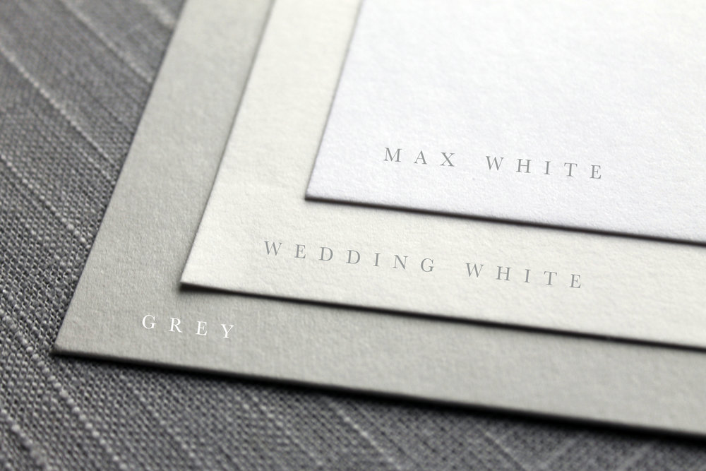 Our Vows Semi-Custom Paper Choices