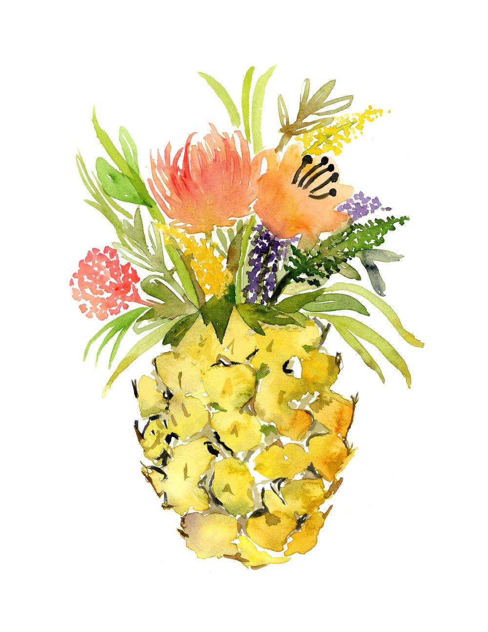 pineapple flowers.JPG