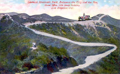 he Lookout Inn, at the top of Lookout Mountain at Appian Way, had a commanding view of the LA Basin, the Pacific Ocean and the San Gabriels.