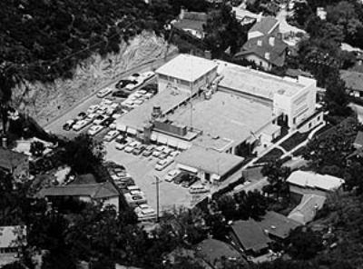 The top secret 1352d Motion Picture Squadron (Lookout Mountain Laboratory) hidden in the valley of Wonderland Park Avenue.