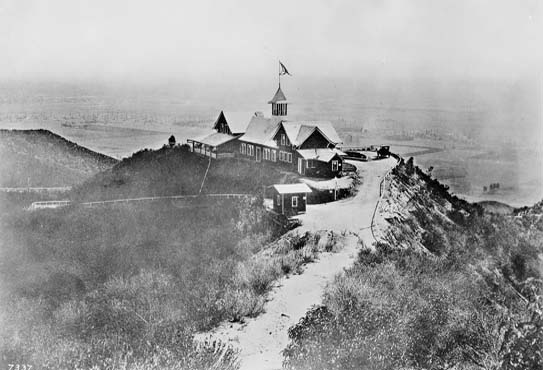 Charles Spencer Mann later built the Lookout Mountain Inn. The inn, which burned down in 1920, is shown in the photo above taken in 1916. Charles Mann, the original developer of Laurel Canyon, is not the same Charles Mann who founded the real estate office at Kirkwood and Laurel Canyon Blvd, and there is no relation. Just a coincidence of history.