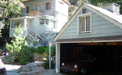 Example of a bungalow-style home built on Stanley Hills Road.