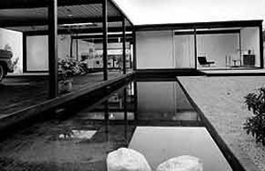 Case study house by Pierre Koenig (No. 21) built in 1956.