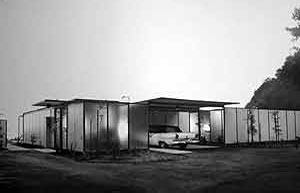 Case study house by Craig Ellwood (No 18) built in 1956