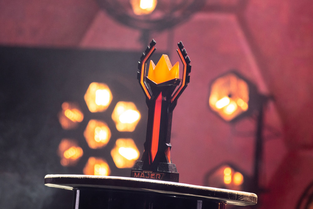 FaceIT Major Trophy at The SSE Arena, Wembley on September 22, 2018 in London, England.  Photo by Kieran Gibbs / ESPAT Media