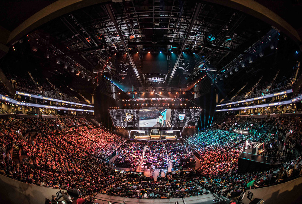 Overwatch League Grand Finals, crowd showed up in numbers to witness history between London Spitfire vs Philadelphia Fusion at Barclays Center on July 27, 2018 in Brooklyn, New York.  Photo by Hannah Smith / ESPAT Media