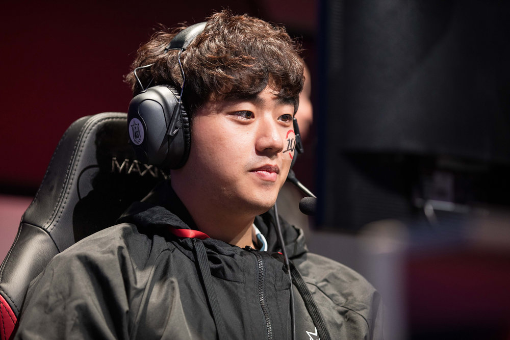 Bae 'Bang' Jun-sik at League of Legends All-Star Event on December 8, 2018 in Las Vegas, Nevada.  Photo by Hannah Smith/ESPAT Media for Mastercard