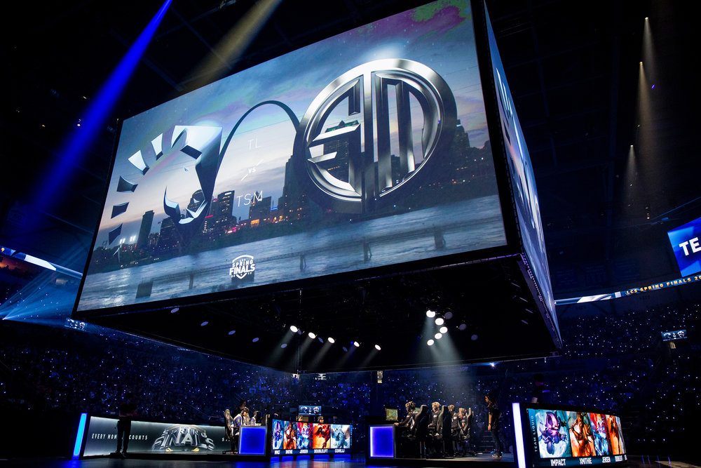 ST LOUIS, MO - APRIL 13: Stage at LCS Spring Finals at Chaifetz Arena on April 13, 2019 in St Louis, Missouri. Photo by David Doran/ESPAT Media