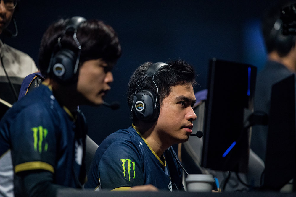 ST LOUIS, MO - APRIL 13: Team Liquid ready for next round at LCS Spring Finals at Chaifetz Arena on April 13, 2019 in St Louis, Missouri. Photo by David Doran/ESPAT Media