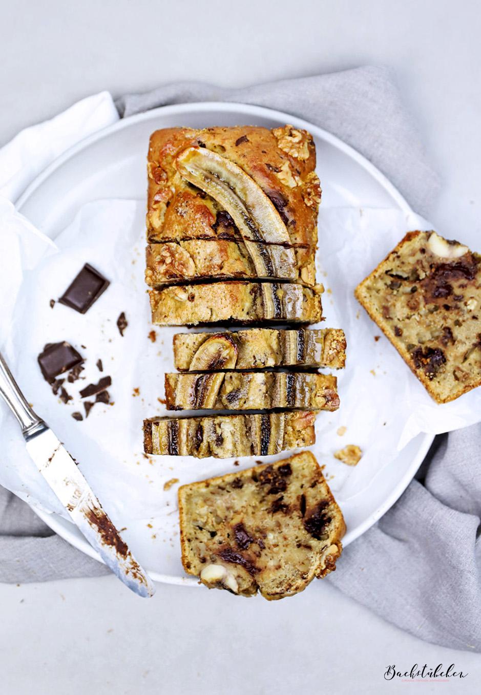 Backen Ohne Butter Und Raffinierten Zucker Bananenbrot Mit