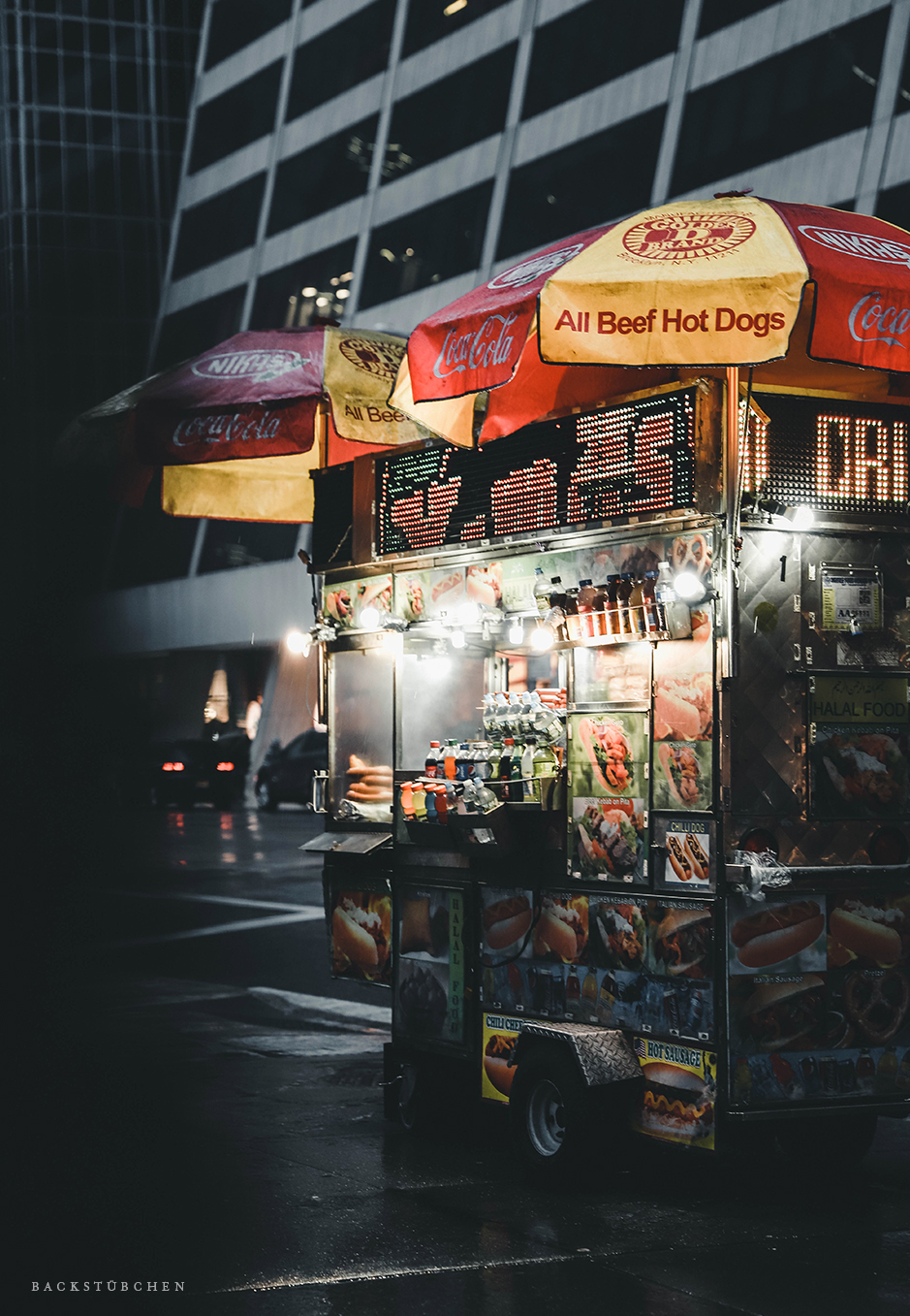 Hot Dog Stand Manhattan