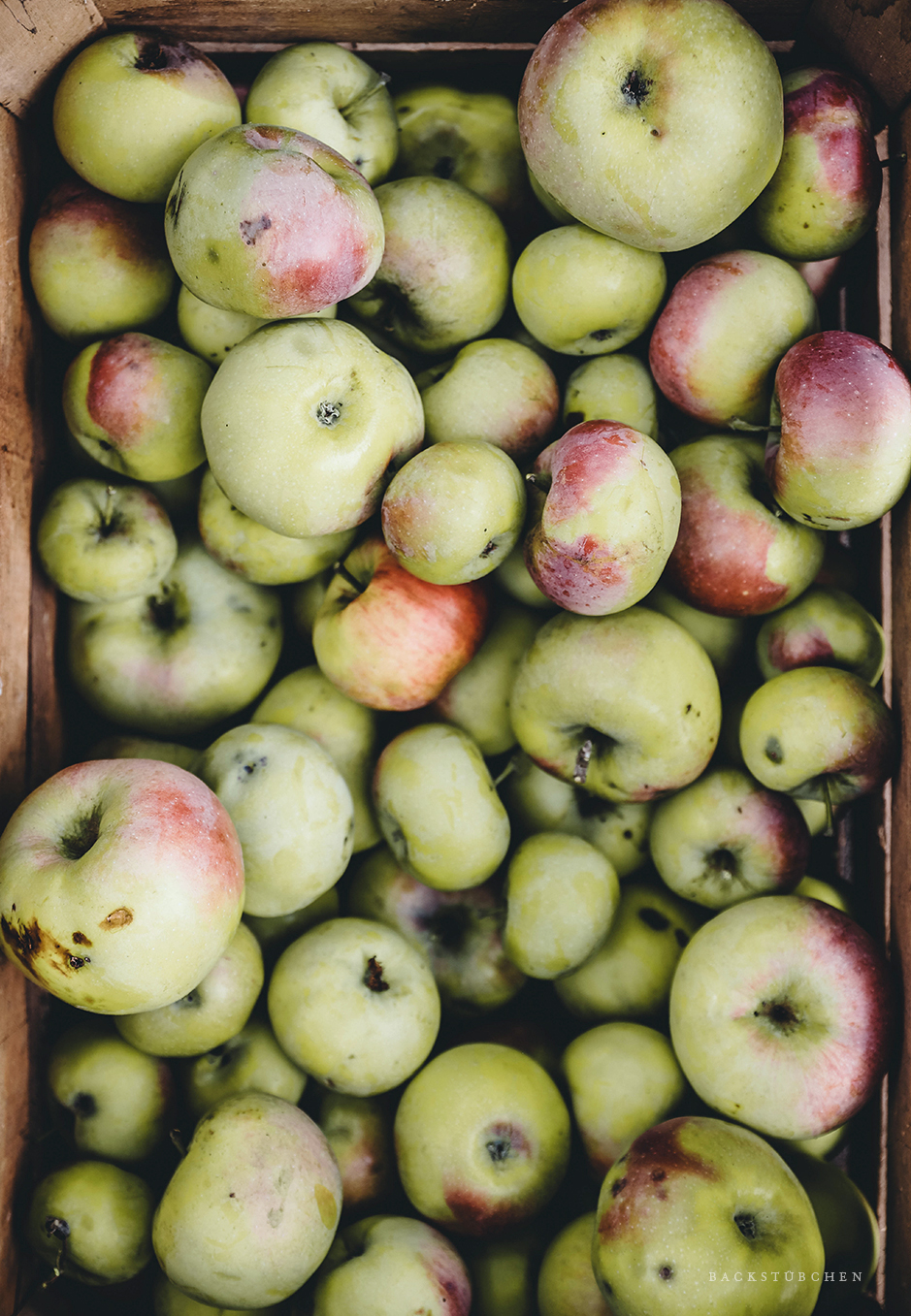 äpfel von oben