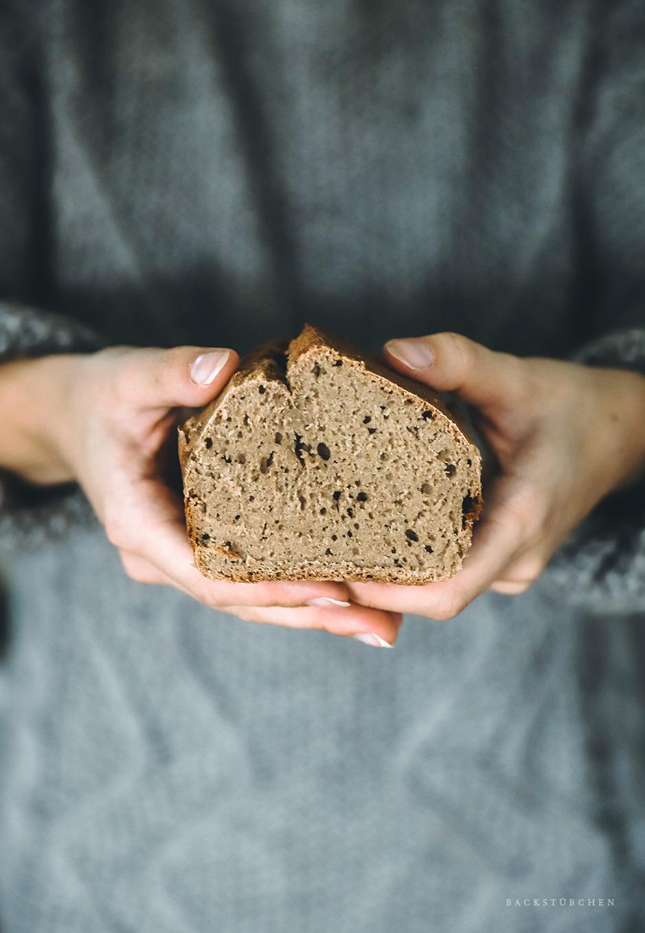 So sieht das schnelle Brot aus