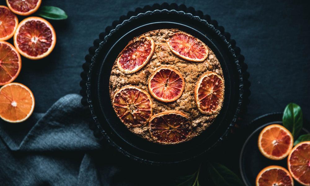 Lust auf einen Blutorange-Streusel-Kuchen?