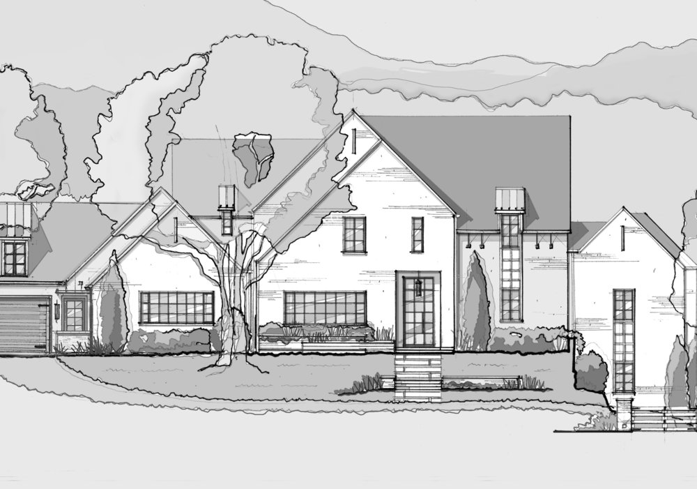 Modern English Farmhouse on Riverside Drive