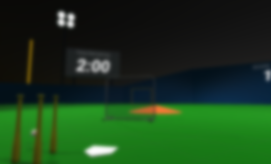VR Home Run Derby -