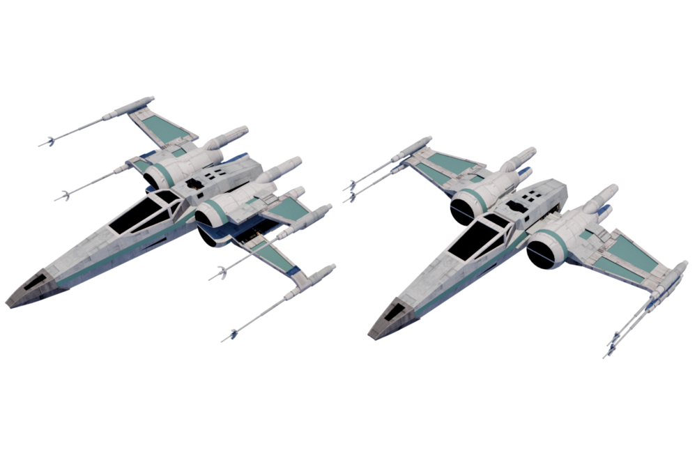 Resistance T-70 X-wing