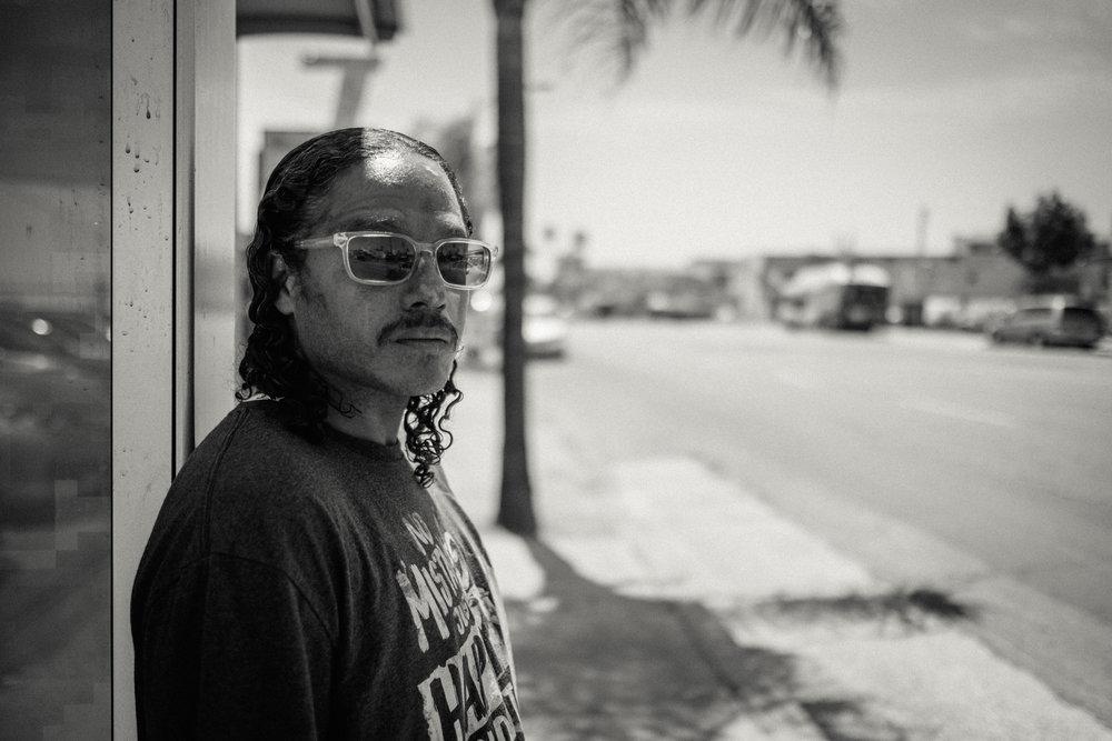 Bus Stop Portrait