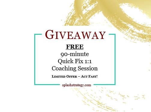 FREE 90-minute Quick Fix Coaching session to the first 7 people who email me!! 🙌  Is there a specific career or leadership related problem that is keeping you up at night or making you feel stuck, frustrated or unmotivated?  I am in the holiday spirit and feeling a strong desire to give back. I am giving away a FREE 90-minute Quick Fix 1:1 Coaching session to the FIRST 7 people that email me expressing their interest [email in bio]. This package includes a single 90-minute coaching session, in person [Toronto, Canada] or virtually, where we will discuss a specific career or leadership related problem and practical strategies that you can implement immediately to address it.  Perfect if you are feeling stuck or frustrated in your career and need a little boost to move forward and start fresh in 2019!  Limited to 7 people in December so Act Fast!! Email in bio . . . . . #giveaway #freecoaching #crushinggoals #focusedonmygoals #careercoach #inspiringwoman #leadershipcoach #professionalwomen #millennialwomen #ambitiouswomen #careerwomen #careersuccess #corporatewomen #womeninleadership #womenincorporate #womenontherise #womenwithpurpose #careeradvancement #successgoals #successtips #careeradvice #careertips #leadersinheels #leadershiptraining #careerdevelopment #careergrowth #highpotential #highperformancehabits #careerpath