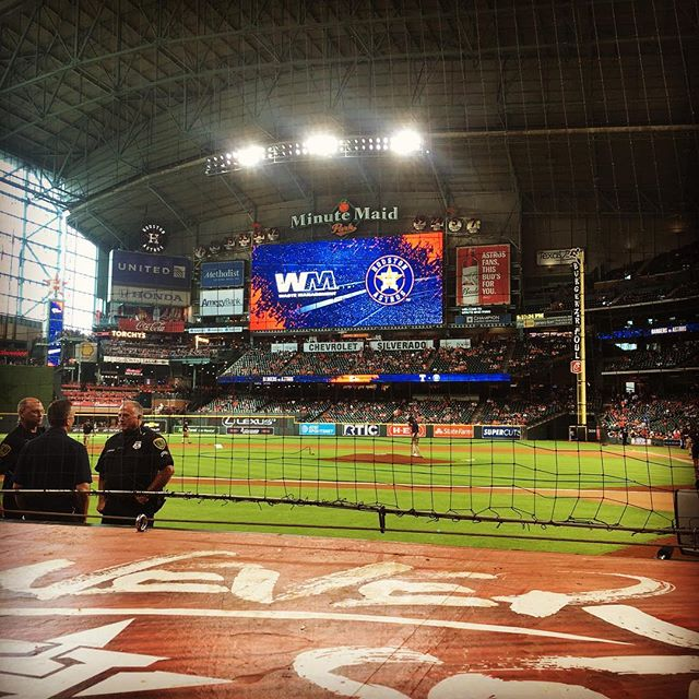 Not that I'm biased or anything, but Minute Maid is definitely the prettiest ballpark.