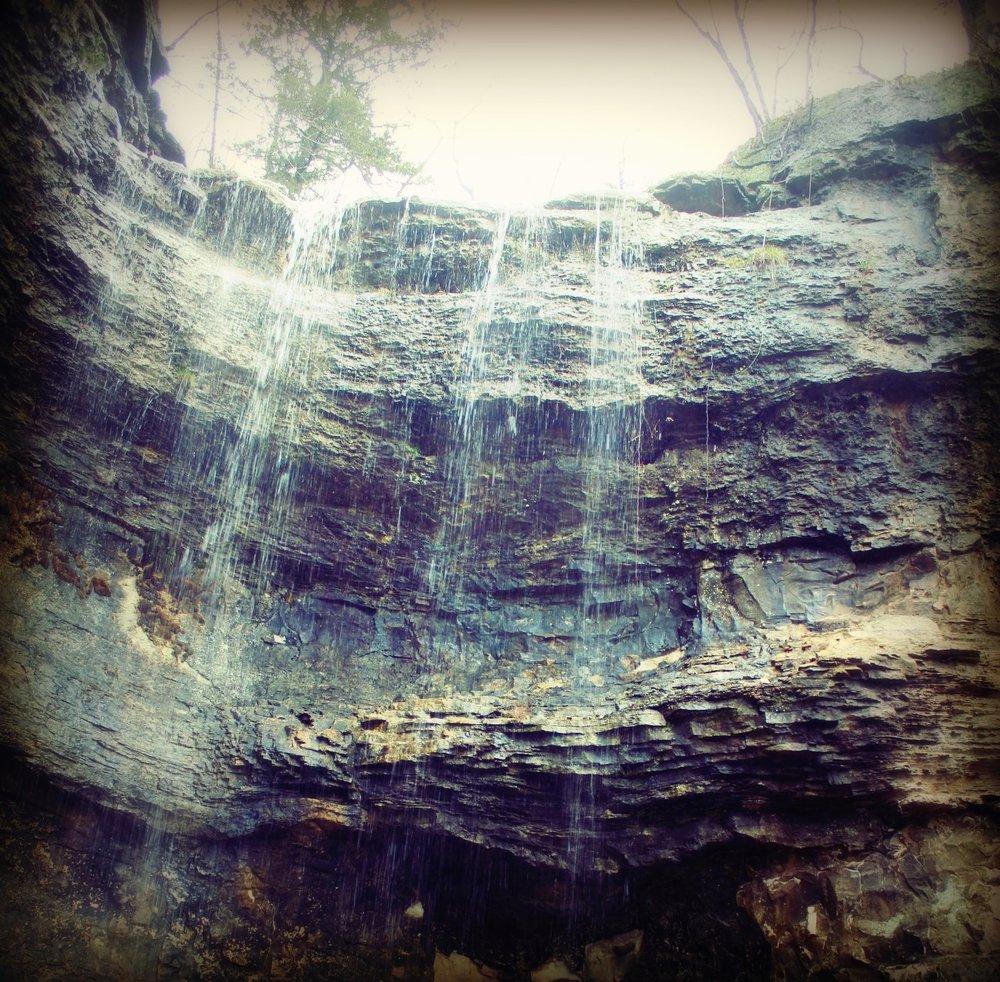 Waterfall (photo by Christie Gause-Bemis)