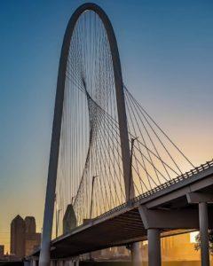 Sunrise over Dallas, Texas