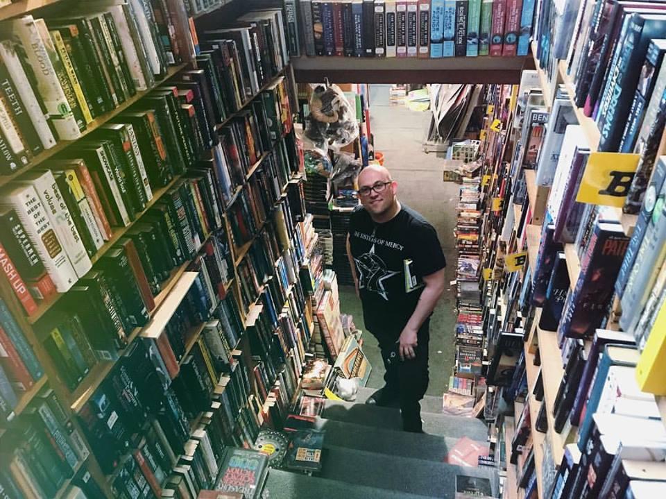 Photo by Jun Shéna at Dark Carnival Bookstore, Brooklyn, CA