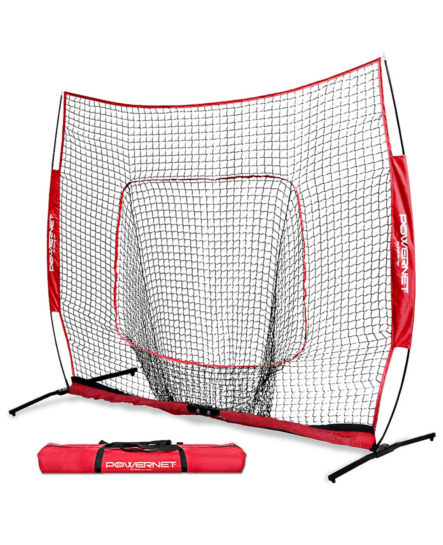 PowerNet 7X7 Pro-Frame Hitting Net — Luke\'s Baseball Academy