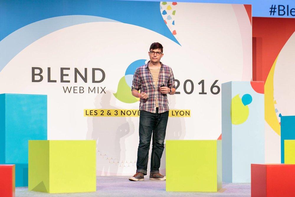 Blend Web Mix - Lyon, France · 2016