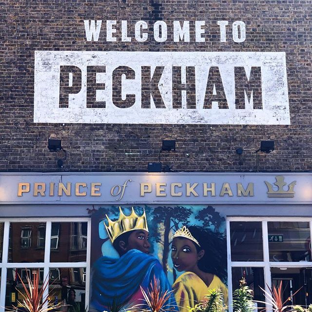 Welcome to Peckham, London 🇬🇧 . . . #london #peckham #princeofpeckham #unitedkingdom #uk #england