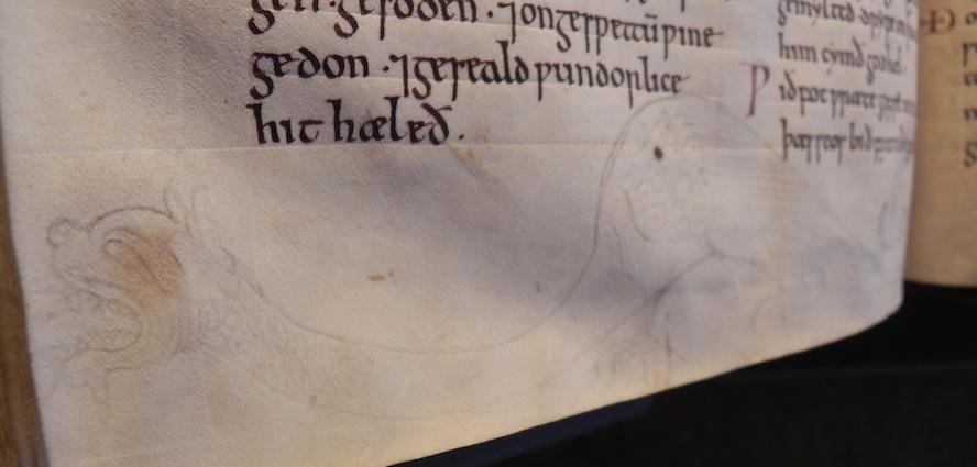 Oxford, Bodleian Library, MS Hatton 76, fol. 126v.