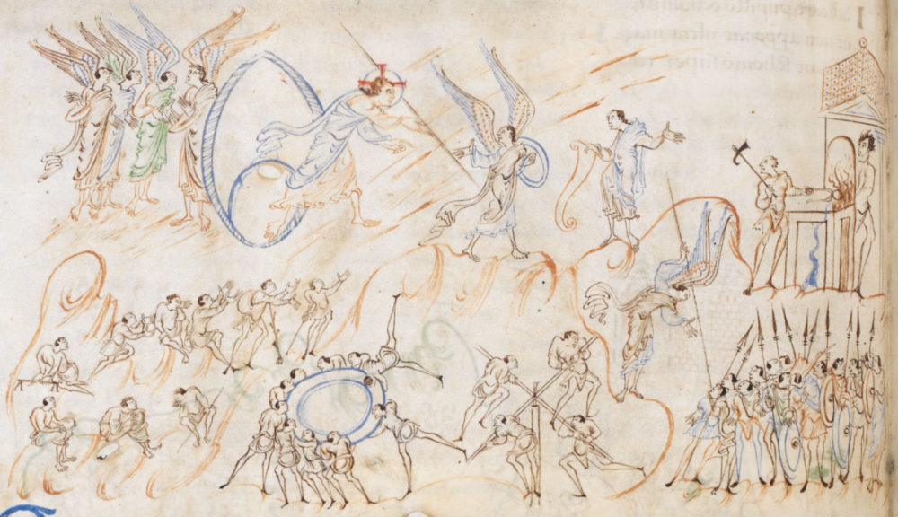 "London, British Library, ""Harley Psalter"" Harley MS 603, fol. 6v"
