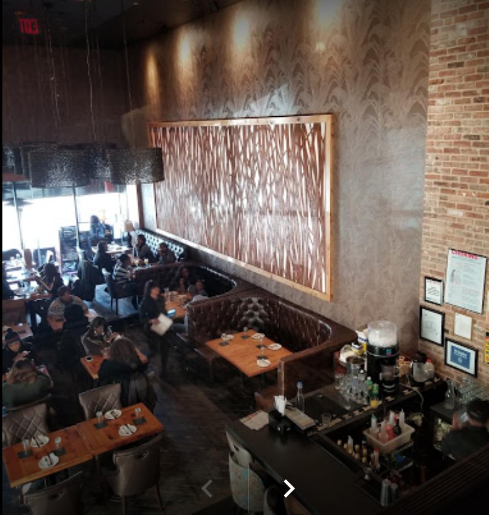 Inside interior of the restaurant (photo found online)