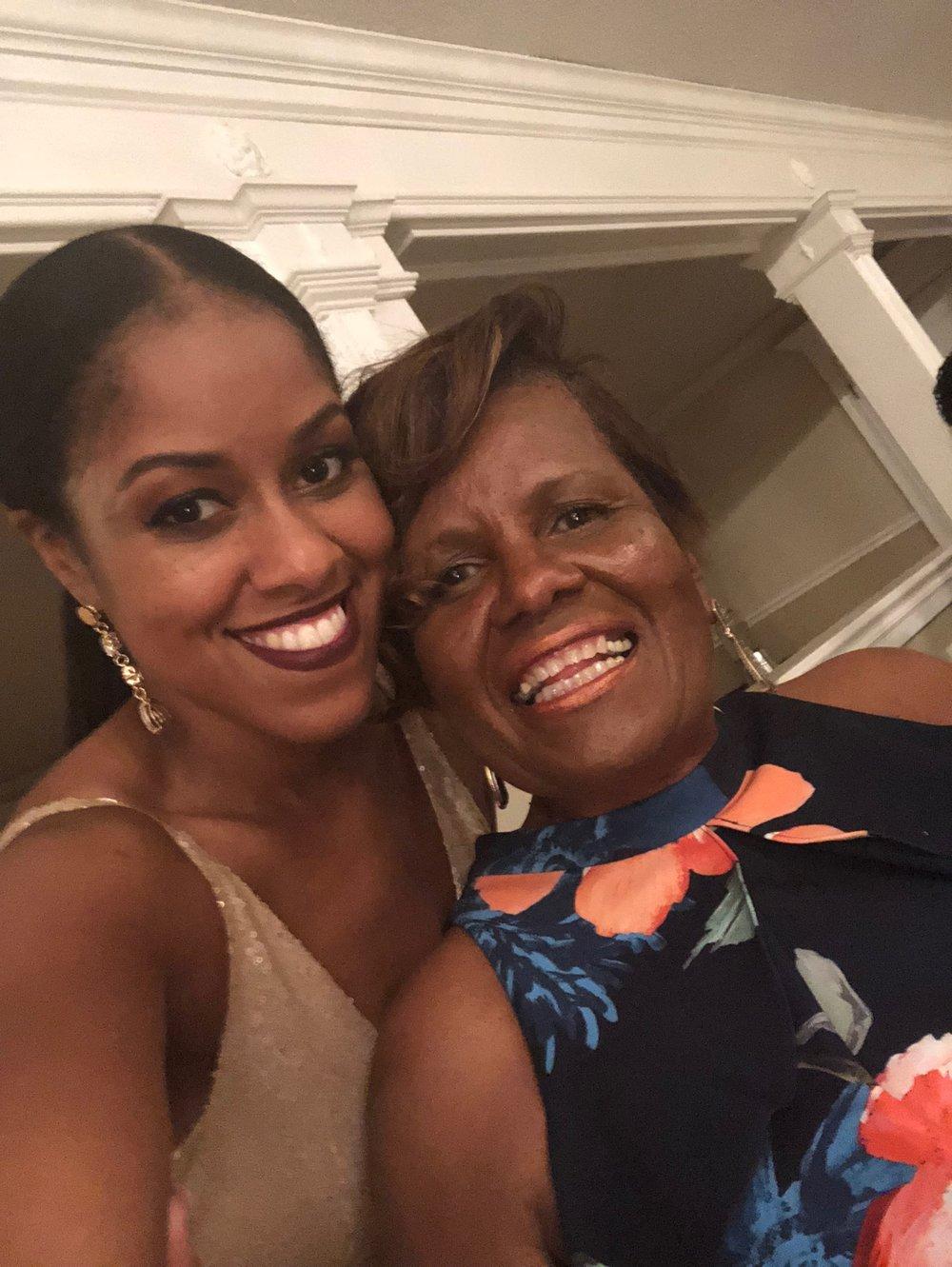 My cute mama ;)