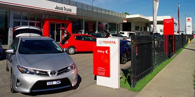 Jacob Toyota Dealership.
