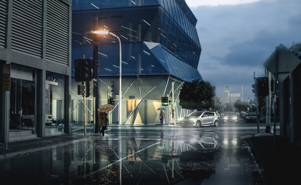"""Cremorne Office Project designed by Wood Marsh architects in Melbourne's booming """"tech hub""""."""