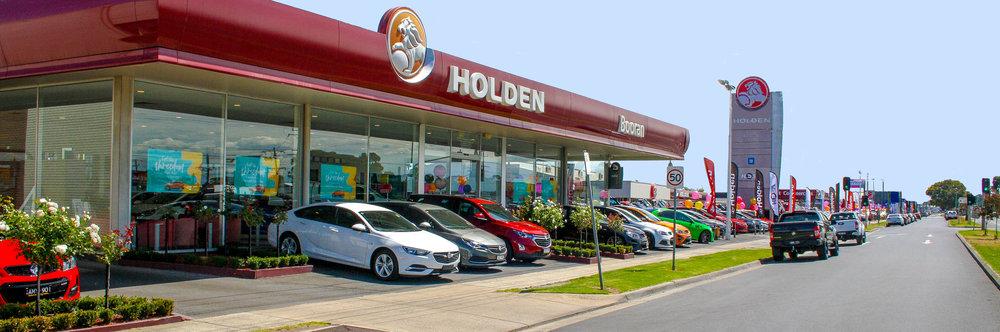 Booran Holden in Dandenong.