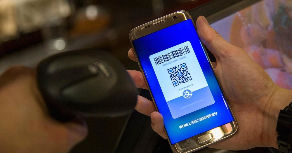 Alipay dominates payments for China.