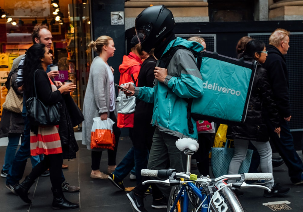 Deliveroo Australia spared growing loss by $20m from parent Roofoods as it invested heavily in a new 'dark kitchens' business.