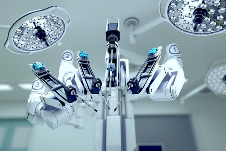 Latest medical robotics devices.