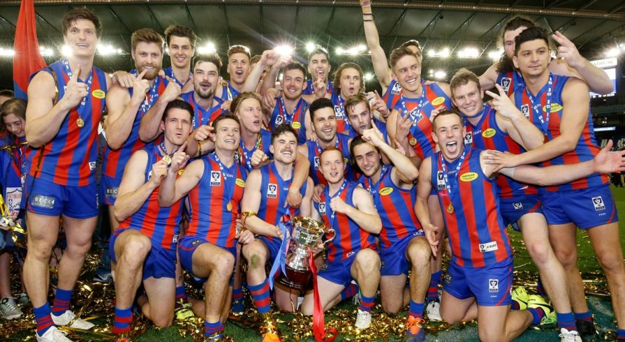 Port Melbourne Boroughs Football Club VFL Premiership 2017.