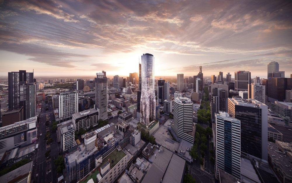 EQ Tower located in Melbourne, Victoria.