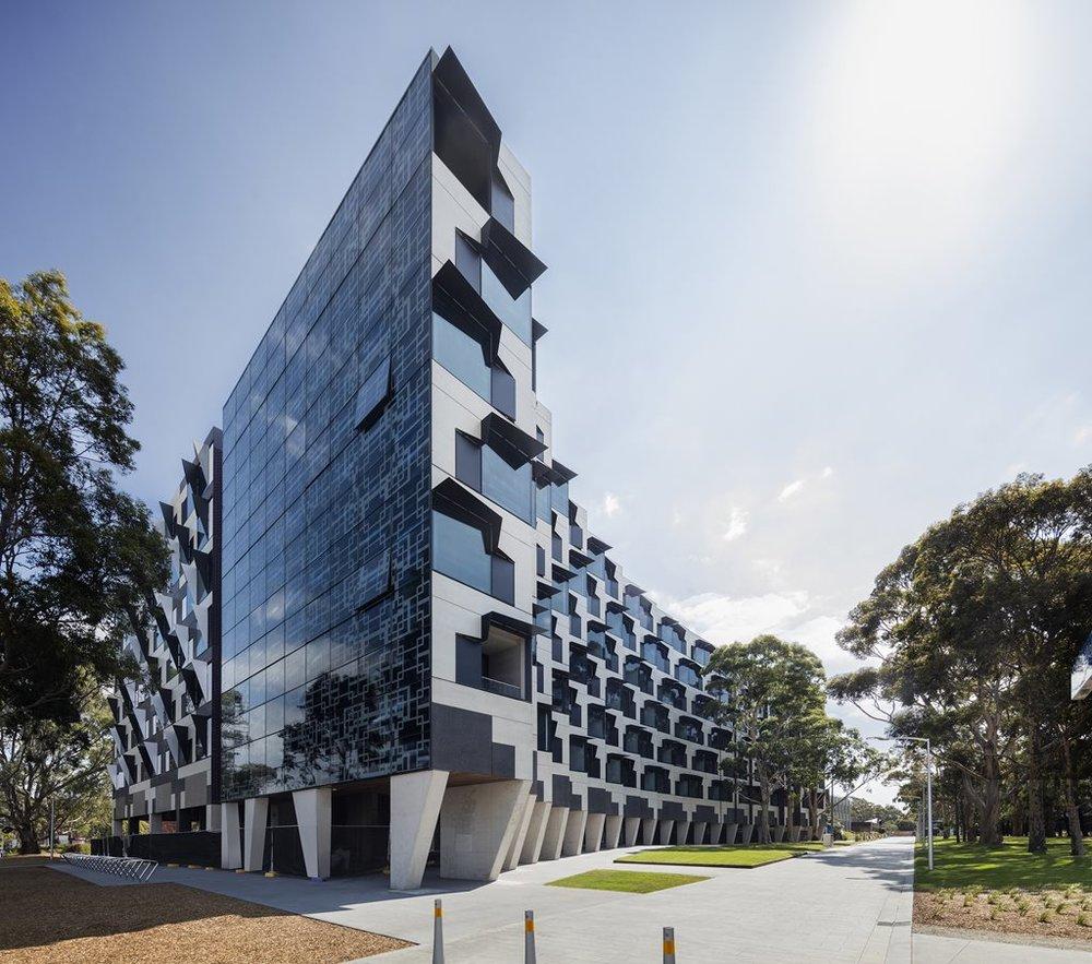 Monash University Student Accommodation, Melbourne.